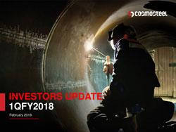 1QFY2018 Investor Update